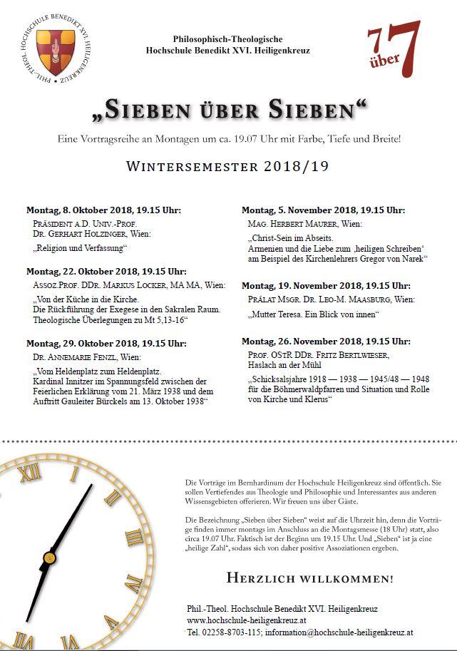 Phil.-Theol. Hochschule Benedikt XVI. Heiligenkreuz - im Wienerwald